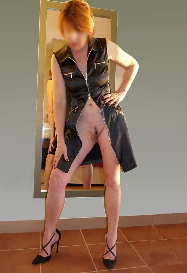 Nue sous mes vêtements